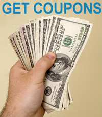 Save money with coupons.